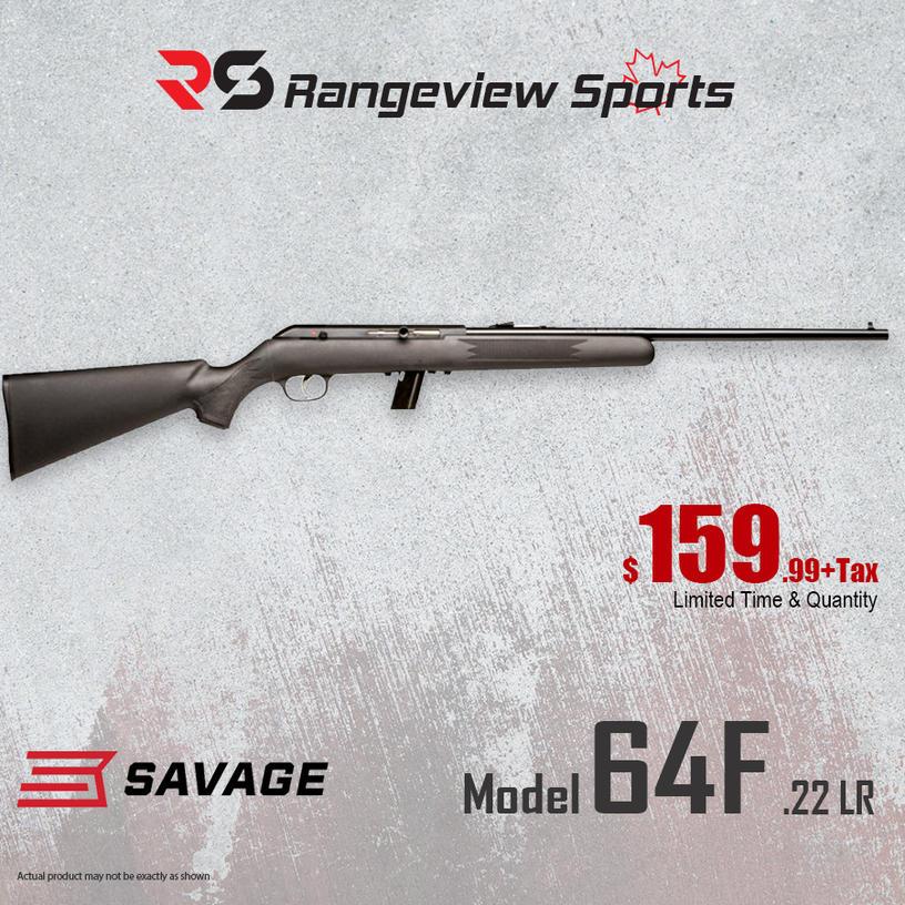 Name:  Savage Model 64F .22 LR Rifle sm.jpg Views: 1396 Size:  146.9 KB