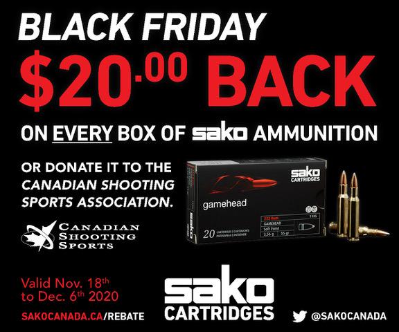 Name:  Sako Ammo Black Friday Promotion Web Banner - 300x250px.jpeg Views: 698 Size:  93.2 KB